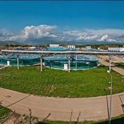 Современные очистные сооружения для города