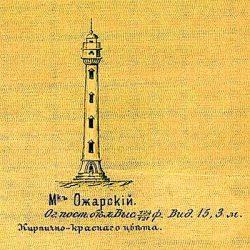 dwg маяк на ожарской косе