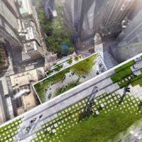 Проекты новых небоскребов Всемирного торгового центра (WTC)