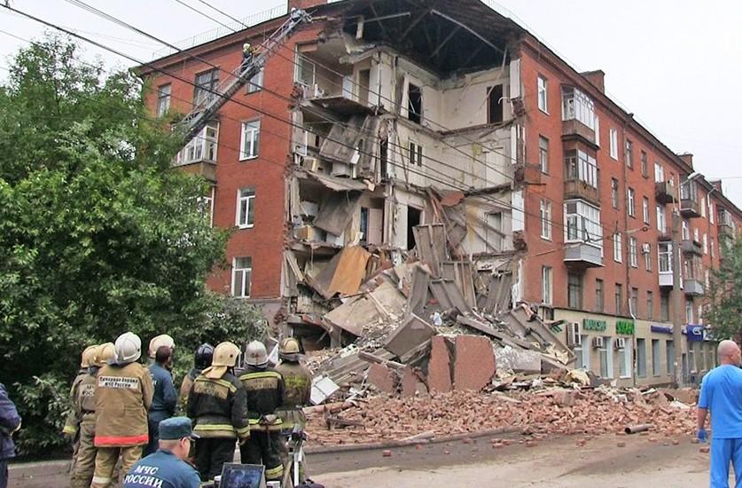 Обрушение дома в Перми, 2015 г.