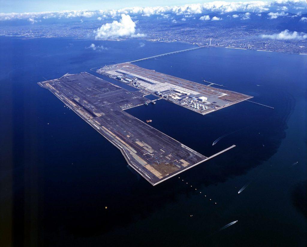 аэропорт искусственный остров