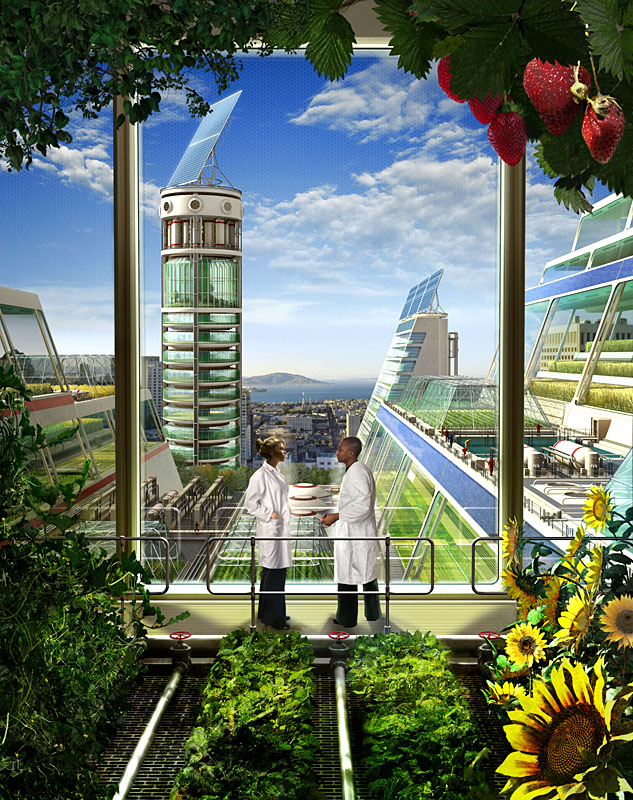 вертикальная ферма