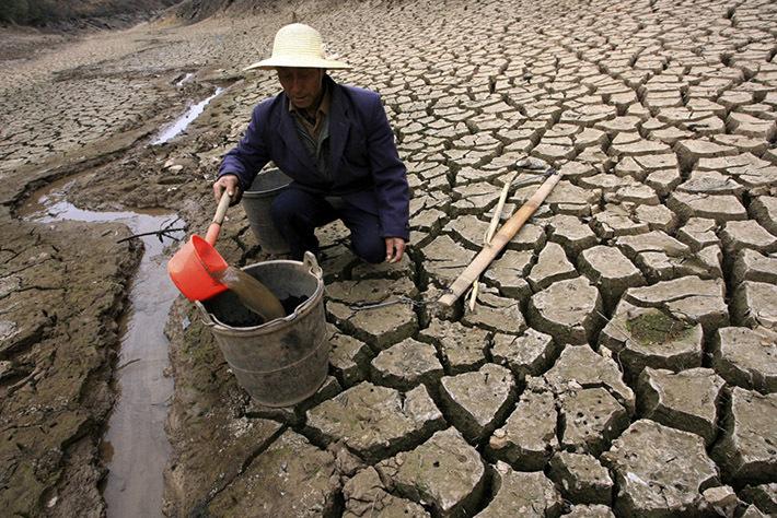 Засушливые районы севера Китая