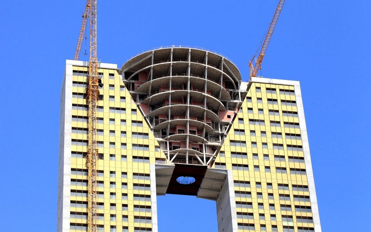 Интемпо небоскреб без лифта
