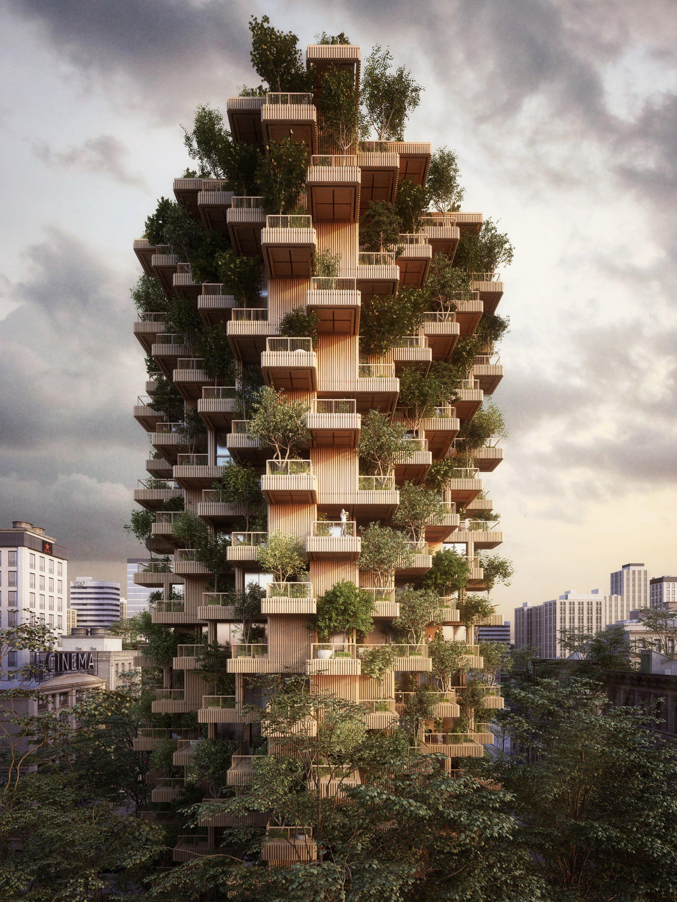 """""""Башня Деревьев"""", Торонто"""