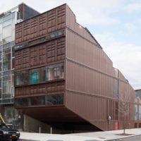 Carroll House — необычный дом из контейнеров