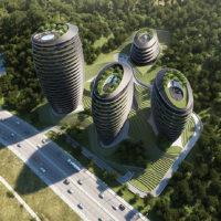 Комплекс зданий в Куньмыне от Peter Pichler Architecture