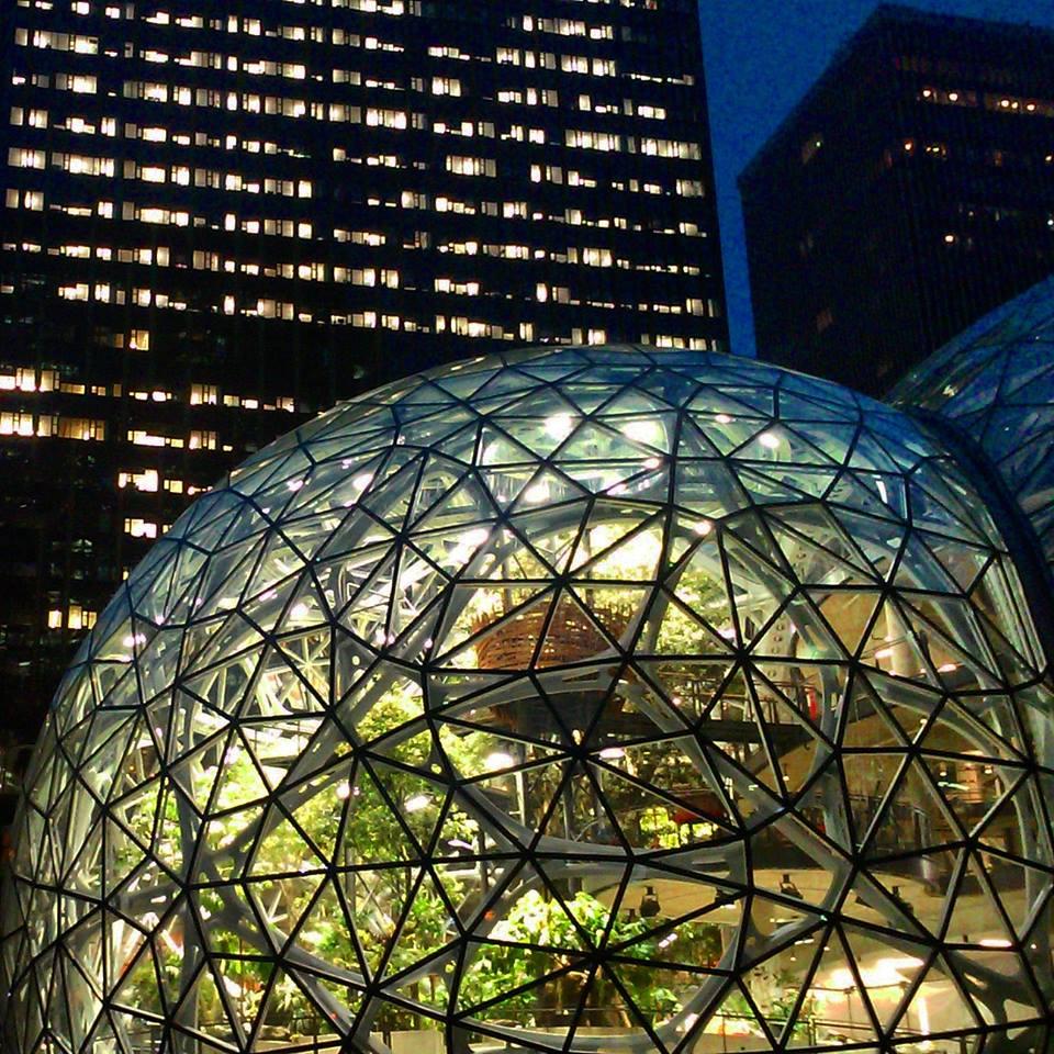 Сферы Амазон в Сиэтле