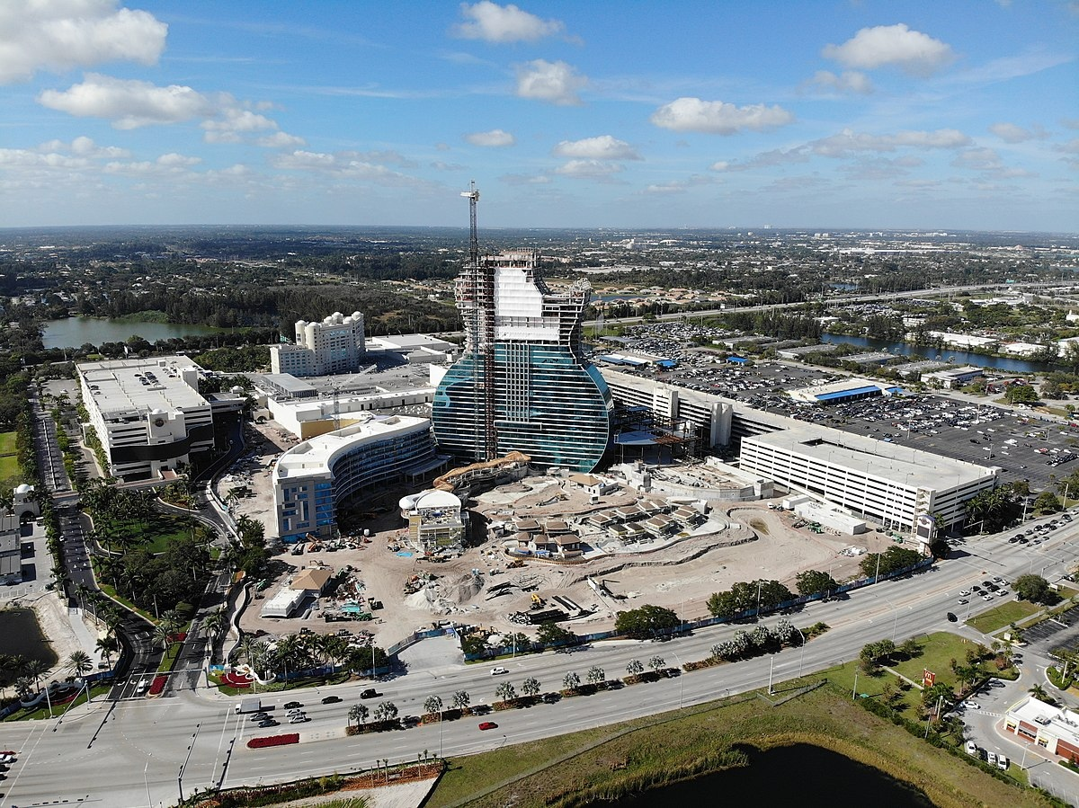 В Голливуде строится Seminole Hard Rock Hotel & Casino