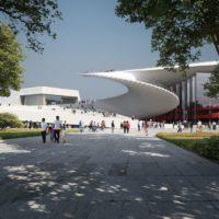Большой оперный театр – новое мега-сооружение в Китае