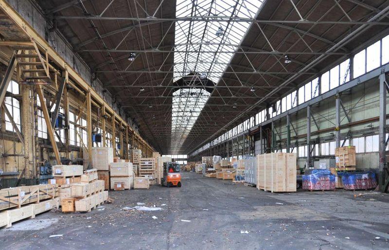 Реконструкция монтажного цеха в Копенгагене