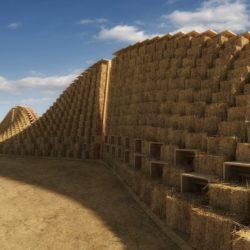 Здание из соломы в Малави