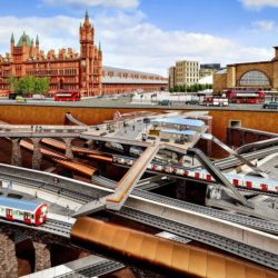 Станция Kings Cross в Лондоне