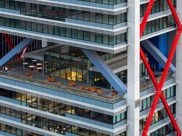 Открытое терраса 8 Chifley в уровне 18 этажа