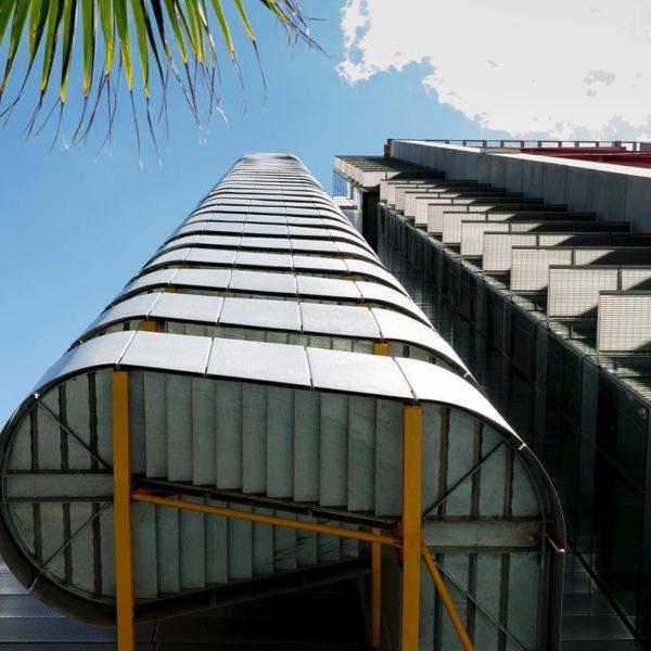 Внешняя пожарная лестница