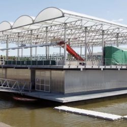 Проект первой плавучей фермы реализован в Роттердаме