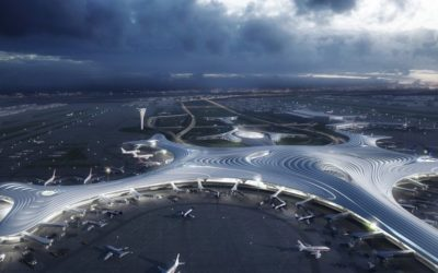 Новый терминал в Харбине по проекту MAD