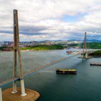 Как обслуживают Русский мост во Владивостоке