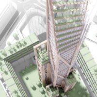 В Лондоне проектируют деревянный небоскреб высотой 300м