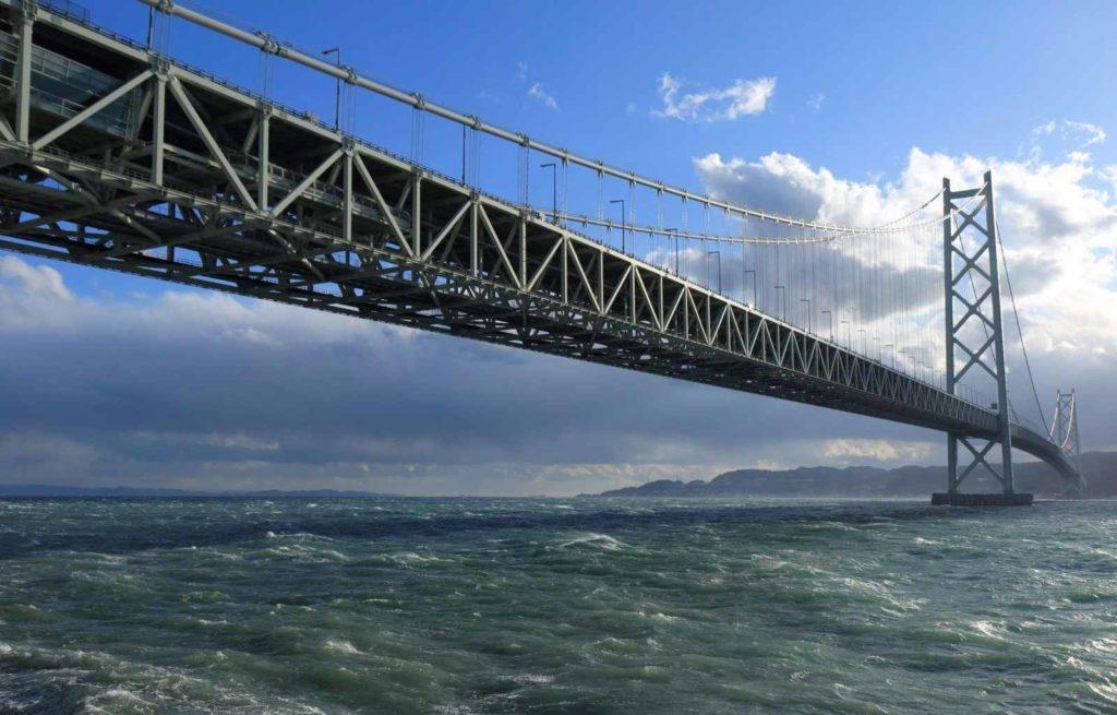 Из истории строительства моста Акаси-Кайке с самой длинной в мире пролетной конструкцией, равной 1,991 км
