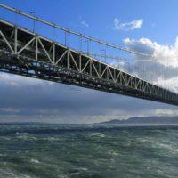 Как строили мост Акаси-Кайке с самой длинной в мире пролетной конструкцией, равной 1,991 км