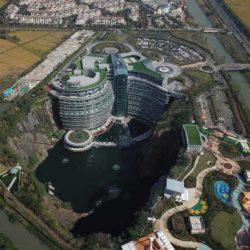Отель в карьере — Intercontinental Shimao Wonderland