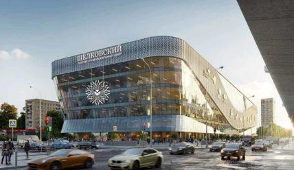 В Москве близится к завершению строительство автобусного терминала с посадочными платформами на крыше