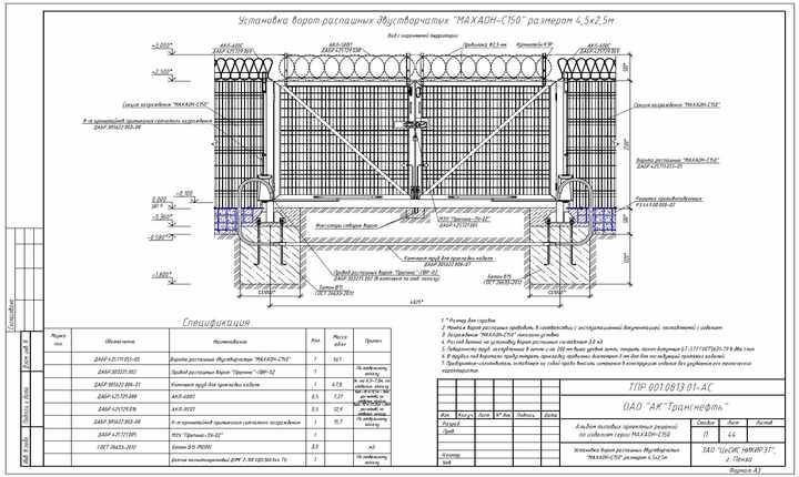 Системы защиты объектов ОАО АК Транснефть