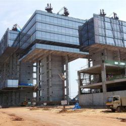 Индия практикует строительство методом подъема перекрытий