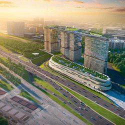 В Москве строят современный многофункциональный комплекс Парк Победы