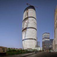 В Пекине завершается строительство Leeza Soho по проекту Zaha Hadid Architrects
