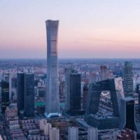 В Пекине завершено строительство «небоскреба с талией»
