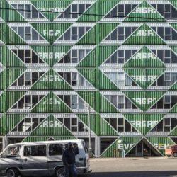 В Южной Африке развивают многоэтажное строительство из контейнеров