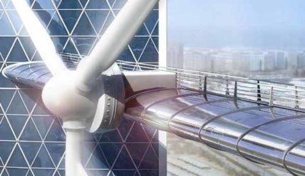BWTC — комплекс зданий в Манаме с интегрированными ветрогенераторами