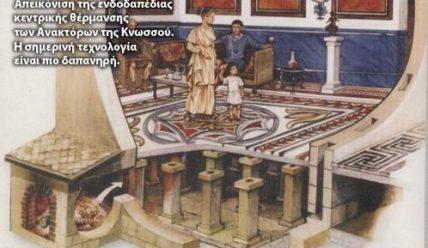 Cистемы отопления в древнем мире