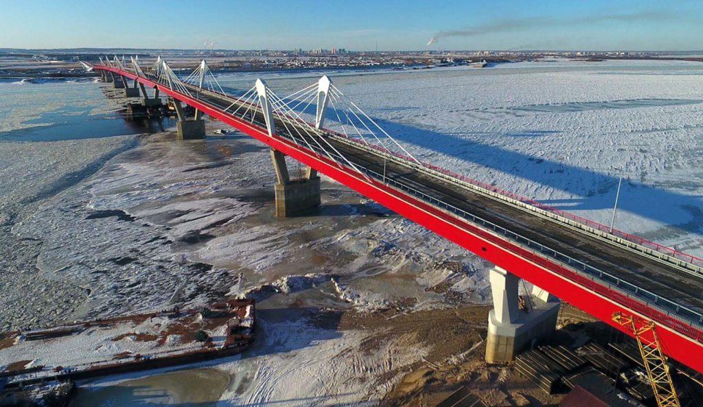 Как выглядит новый мост между Россией и Китаем