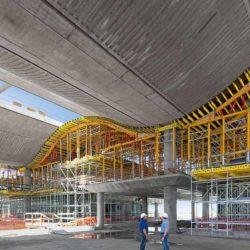 Опалубочные решения для строительства здания мэрии Буэнос-Айреса в Аргентине