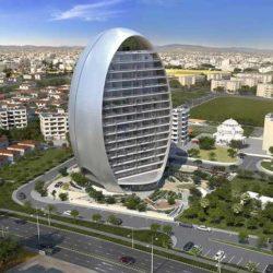 «Овал» — энергоэффективное офисное здание на Кипре