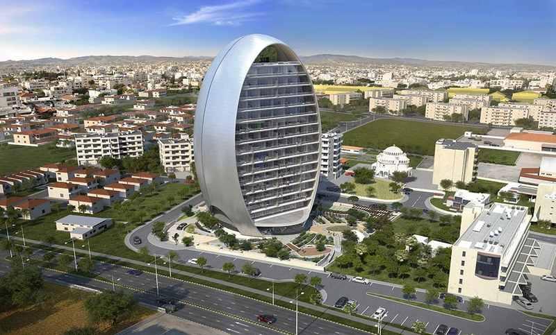Овал - энергоэффективное офисное здание на Кипре
