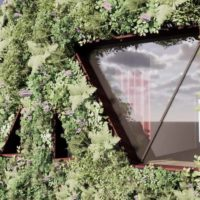 Самый большой зеленый фасад в Европе будет улавливать до 8 тонн загрязнений в год