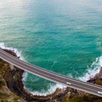 Sea Cliff Bridge — одна из красивейших эстакад в мире