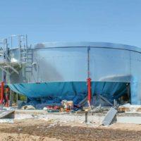 Современные сборные резервуары Flamax для систем питьевого и противопожарного водоснабжения