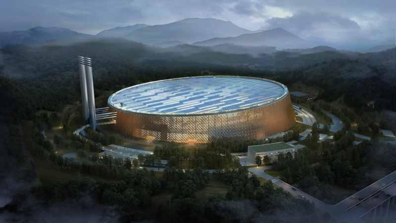 Строительство крупнейшего мусороперерабатывающего комплекса в Шеньчжене