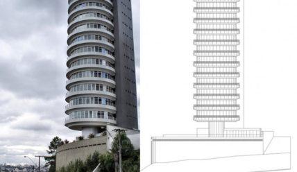 Suite Vollard — жилое здание с вращающимися этажами в Бразилии