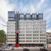 В Лондоне выполнена реконструкция Camden Town Hall Annexe