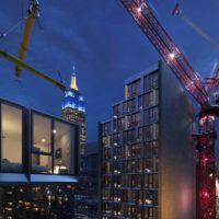 В США возводится 26-этажное здание из модулей полной заводской готовности