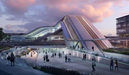 Zaha Hadid Architects разрабатывает проект современного железнодорожного терминала для Таллина