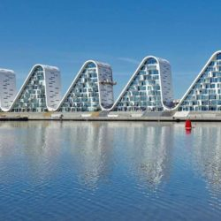 Жилой комплекс Wave в Дании