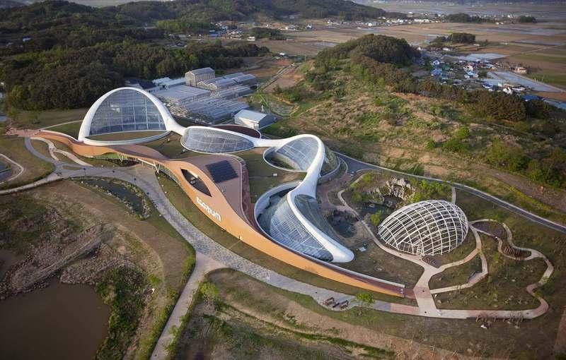 Экориум - колоссальный научный и образовательный проект в Южной Корее
