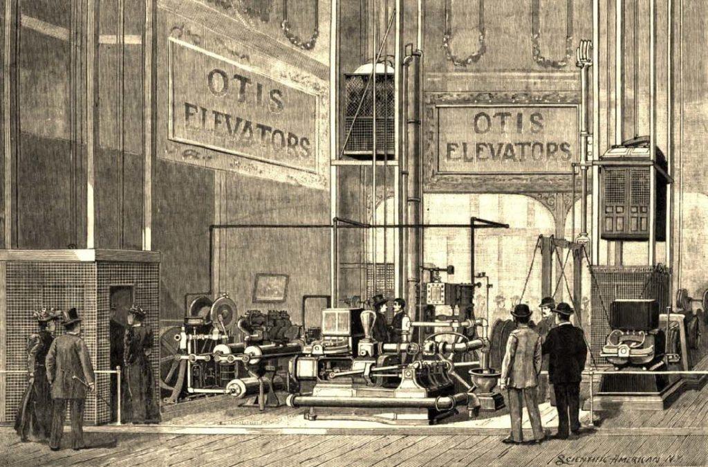 Элиша Отис - история создания безопасного лифта для зданий